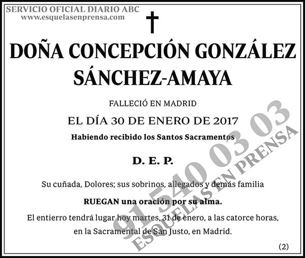 Concepción González Sánchez-Amaya